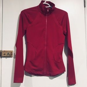 Sweaters - New activewear zip up Berry colour
